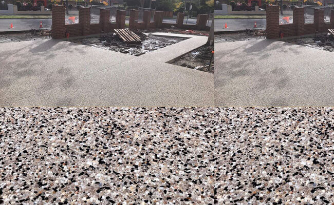 CC3 Exposed Aggregate Driveway Melbourne
