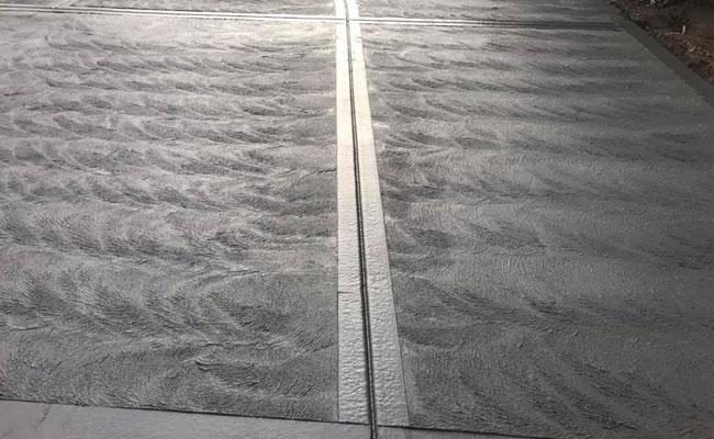 Coloured Concrete Driveways Melbourne Stipple Finish